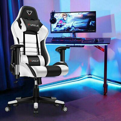 AU149.99 • Buy Gaming Chair Office Racing Executive Computer Chairs Recliner PU Leather 360°Swi