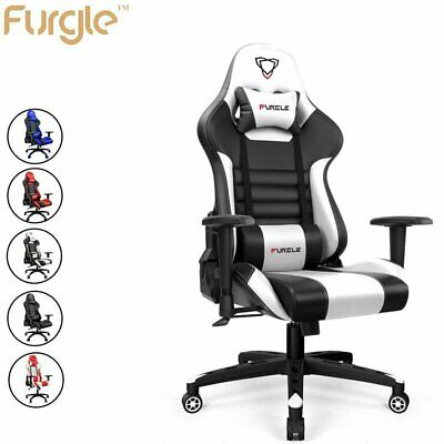 AU149.99 • Buy Furgle Gaming Chair Office Computer Leather Chairs Racer Executive Racing Seat