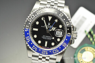 $ CDN21225.70 • Buy 2019 NEW Mens Rolex GMT-Master II Ceramic Batman Automatic Watch 126710BLNR