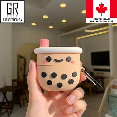 $ CDN11.99 • Buy Bubble Boba Milk Tea Airpod AirPods Pro Protective Shell Case Cover Cases CANADA