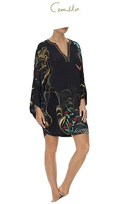 AU200 • Buy Camilla New Without Tags Wise Wings Kaftan Dress