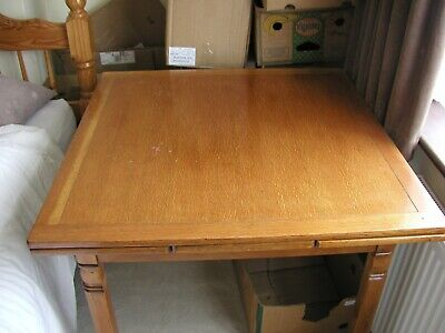 Extending 2 Leaf Dinning Table And 4 Ercol Chairs     Con Used • 75£