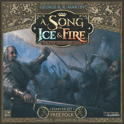 A Song Of Ice And Fire: Free Folk Starter Set • 74.99£