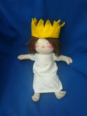 The Little Princess Rare Small 90s Soft Toy Beanie Rag Doll Original Tony Ross  • 20£