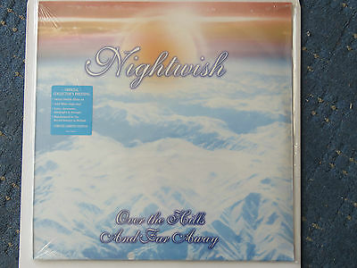 NIGHTWISH OVER THE HILLS AND FAR AWAY VINYL,  Limited Edition White Vinyl Rare  • 78£