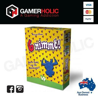 AU22 • Buy 6 Nimmt Party Card Game  Board Game Brand New