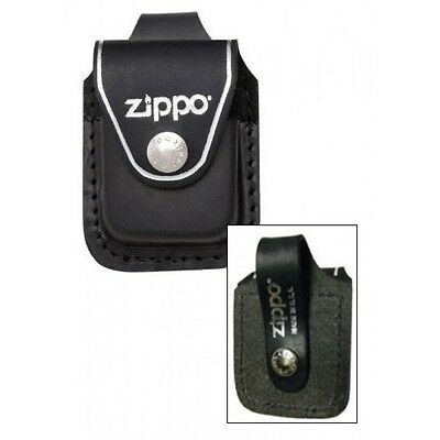 $9.97 • Buy Zippo Lighter Pouch Black  With Loop LPLBK Free Shipping On Belt Safety New