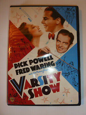 £3.18 • Buy Varsity Show DVD Classic 30s Movie College Musical Dick Powell Busby Berkeley!