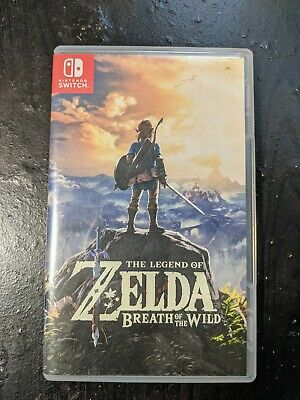 $36 • Buy Legend Of Zelda: Breath Of The Wild (Nintendo Switch, 2017)