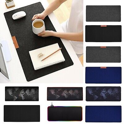 AU9.86 • Buy Large Gaming Mouse Mat Home Office Computer Table Keyboard Mice Pad Mousepad LOT