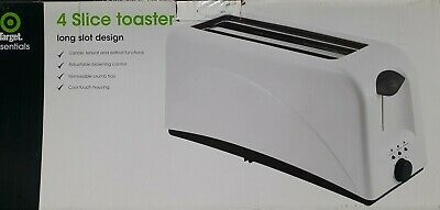 AU40 • Buy 4 Slice Toaster,white,defrost,reheat,defrost,browning Control,cool Touch Housing