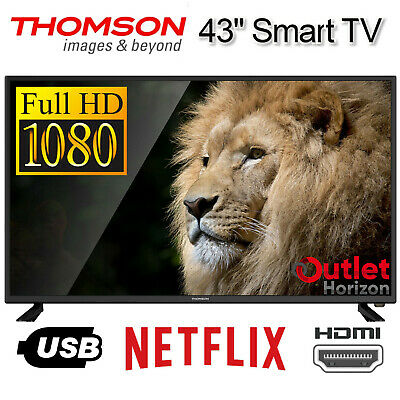 AU346.93 • Buy THOMSON Smart TV 43 Inch FULL HD 1080p LED 43  Netflix Streaming Apps Television