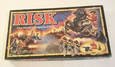 $23.95 • Buy Vintage 1993 Risk Board Game The World Conquest Game Parker Brothers Complete
