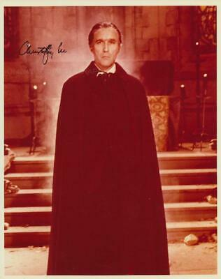£220 • Buy CHRISTOPHER LEE - Dracula GENUINE SIGNED AUTOGRAPH