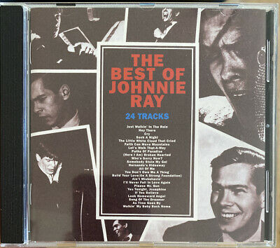 The Best Of Johnnie Ray CD (Columbia, 1996) *VGC* - FREE UK P+P • 2.99£