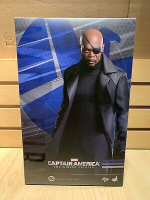 $299.95 • Buy Hot Toys Nick Fury Captain America The Winter Soldier MMS315 MIB 1/6 Scale