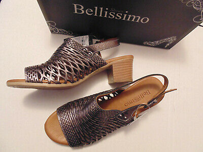 Bellissimo Womens Pewter Shoes Size Uk 5/ Eu 38 • 13.95£