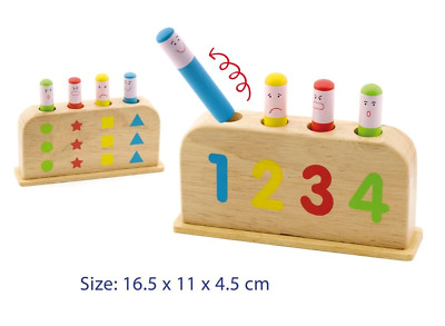 AU13.95 • Buy Fun Factory - Wooden Pop Up Toy Educational GIFT Fun