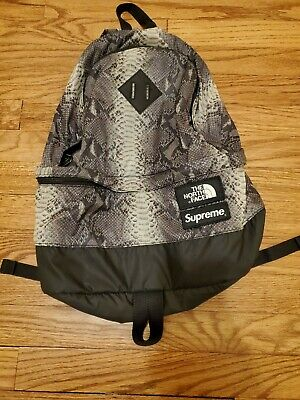 $ CDN171.68 • Buy Supreme X The North Face Snakeskin Backpack Black AUTHENTIC