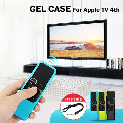 AU4.89 • Buy Remote Controller Silicone Cover For Apple TV 4th Skin Case Protective Dustproof