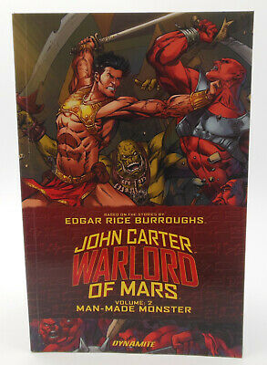 $11.95 • Buy John Carter Warlord Of Mars Vol. 2 Man-Made Monster - Dynamite TPB Book 2016