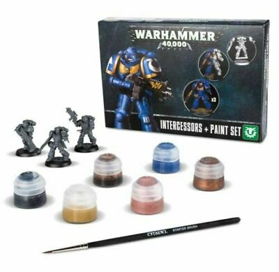 Intercessors & Paint Set, Citadel Paint, Warhammer 40,000 / Age Of Sigmar • 23.99£