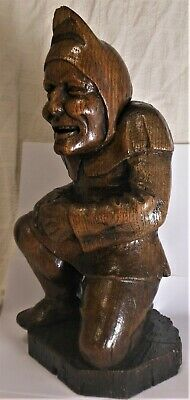 $ CDN805.24 • Buy Fabulous 18th Or Early 19th Cen. Carved Oak Grotesque Figure Of A Hunchback 13