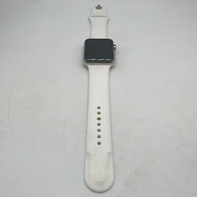$ CDN175.92 • Buy Apple Watch Series 2 (GPS) Silver Stainless Steel 42mm W/ White Sport Good Cond
