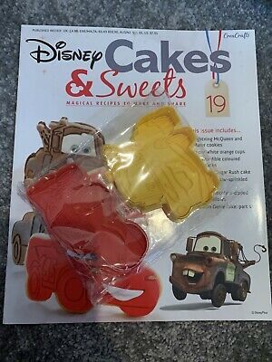 Disney Cakes & Sweets Issue 19 Lightning McQueen And Mater Cooke Cutters • 0.99£