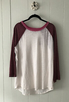 $18.50 • Buy American Eagle Outfitters Women's Henley T Shirt 3/4 Sleeve Sz XL NWT
