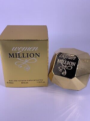Ladies Perfume, Woman Million. Pack Of Two 40ml Bottles • 14.99£