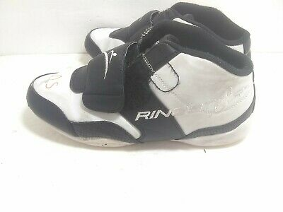 $23.55 • Buy Ringstar Martial Arts Sparring Shoe White & Black Size 8