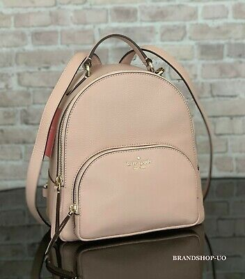 $ CDN155.69 • Buy KATE SPADE NEW YORK JACKSON MD PEBBLED LEATHER BACKPACK SHOULDER BAG $359 Pink