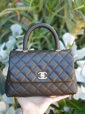 AU7195 • Buy Chanel 20A Mini Coco Handle With GHW
