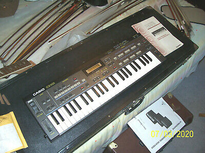 $469 • Buy Casio CZ101  Used Works Sold As Is  CXZ-101 Electronic Keyboard Synth.