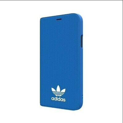 AU40 • Buy Genuine Adidas Booklet Case Cover For IPhone Xs/X - Blue BRAND NEW