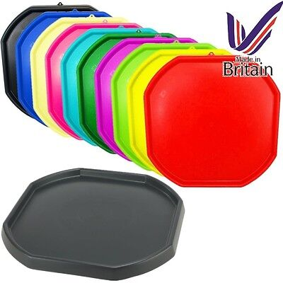Large Plastic Builder Children Play Colour Mixing Tray Spot Cement Mortar Sand • 15.50£