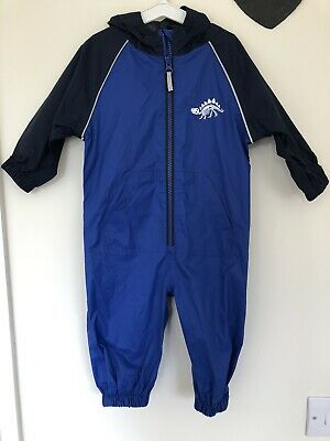 Next Boys 12-18 Months Splash Suit All In One VGC Dinosaur Logo • 9.99£