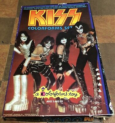$44.44 • Buy KISS Colorforms In-complete 1979 Set. Aucoin