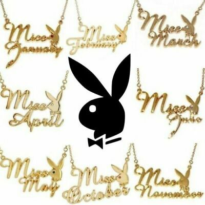 Genuine Playboy Necklace Pendant Astrology Horoscope Zodiac Star Gem Sign Chain • 8.99£