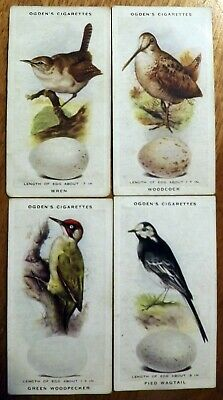 £23.21 • Buy Cigarette Cards - British Birds And Their Eggs - Full Set Of 50.