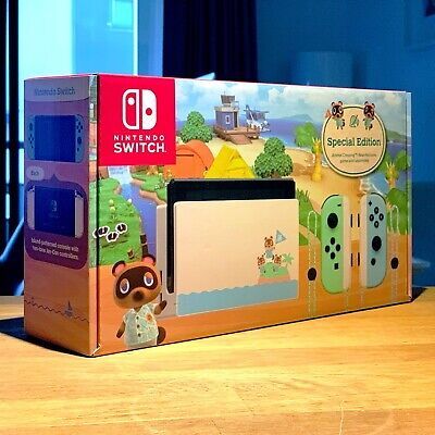 AU600 • Buy Nintendo Switch Animal Crossing New Horizons Special Edition Console AU Version