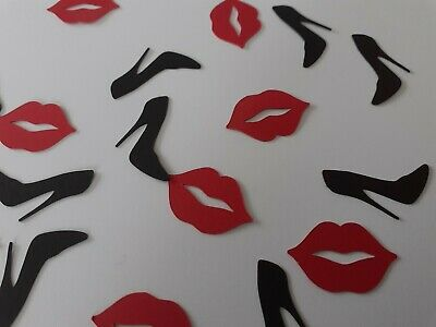 Lip & Stiletto Confetti. Hen Nights, Birthdays, Scrapbooking  • 1.70£