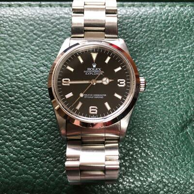 $ CDN10833.02 • Buy ROLEX OYSTER Perpetual EXPLORER I 14270 Chronometer SWISS MADE Watch