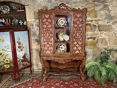 AU9.99 • Buy Vintage French Rococo,Louis Style Display Cabinet & Base.Sideboard~Elaborate