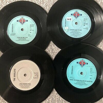 Job Lot 4 X The Dooleys  7   Records (titles Below)  • 2.75£