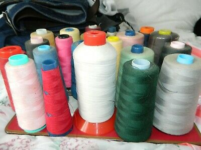 Job Lot Of Sewing Threads Various Colours Overlocker (1) • 2.20£