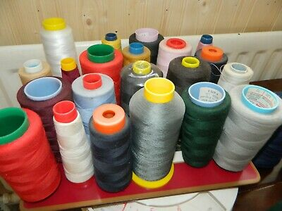 Job Lot Of Sewing Threads Various Colours Overlocker (2) • 4.20£