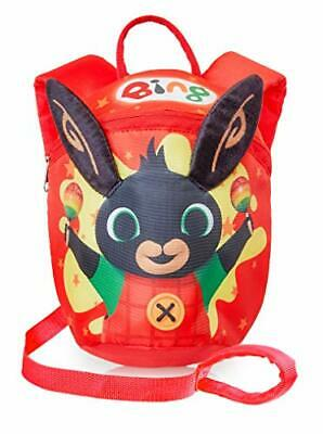 Bing Kids Reins Backpack | Bing Bunny Toddler Red Backpack For Boys, Girls | • 20.20£