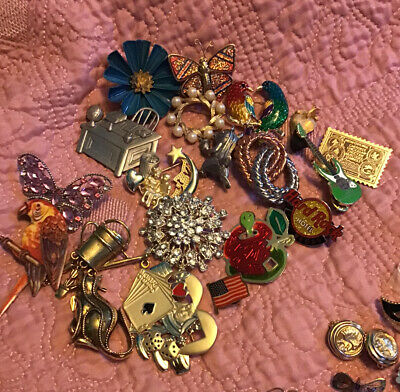 $ CDN6.78 • Buy Jewlery Lot, Over 3 Pounds, Wearable, Crafts, Some 925. Lots Of Vintage